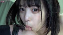 ⑤ [Face licking enhanced version] Sora Kamikawa's face licking! Nose Jupajupo! Bello Bello blame!