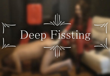 Anal torture development from fist to deep fist
