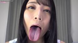 ①佐藤ののかちゃんの完全主観映像!舌見せ!唾吐き!レンズ舐め!
