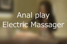 Anal prostate torture with electric massager