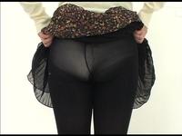 【ツバメの巣】素人女子が私服で生パンツ見せてくれた。それをじっくりガン見する。 #049