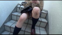 【実録出版】階段女子校生 #027