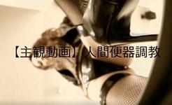 [Subjective video] Human toilet training