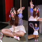 被虐のテニスウェア あすみ Part1