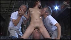 【グローリークエスト】老働者に輪○され性奴○と化す巨乳未亡人 #022