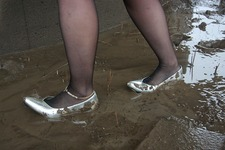 Wet&Messy Shoes画像集074