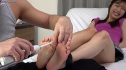 ④ [M / F] Kanna Abe's foot appreciation, foot tickling
