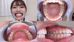 [Tooth Fetish] I observed the teeth of Momo Kaori-chan!